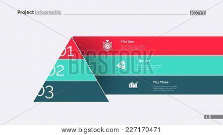 Modern Cone Staircase Diagram Slide Template. Business Data. Graph, Diagram, Design. Creative Concep