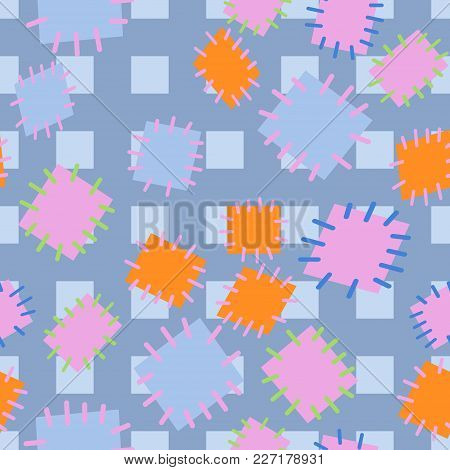 2952651 Seamless Pattern In Color Patches.
