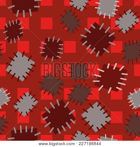 2952745 Seamless Pattern In Color Patches.