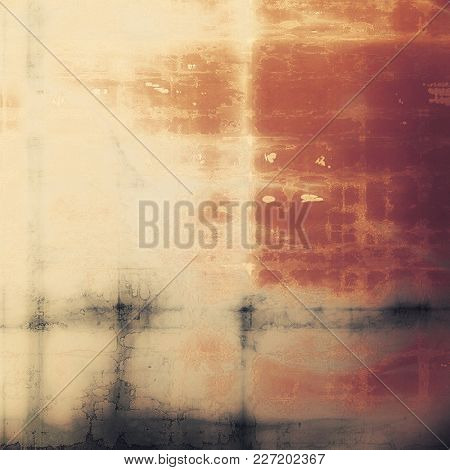 Retro texture, shabby and ragged background in grunge style. With different color patterns