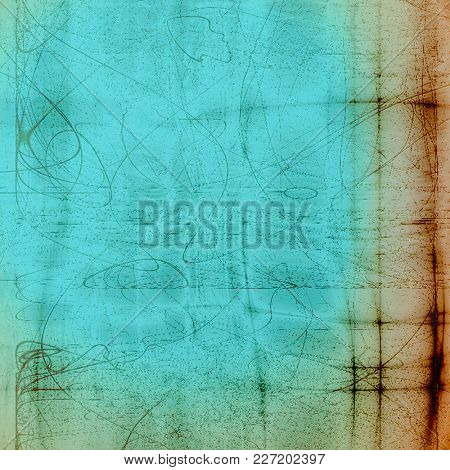 Grunge texture or background with retro design elements and different color patterns