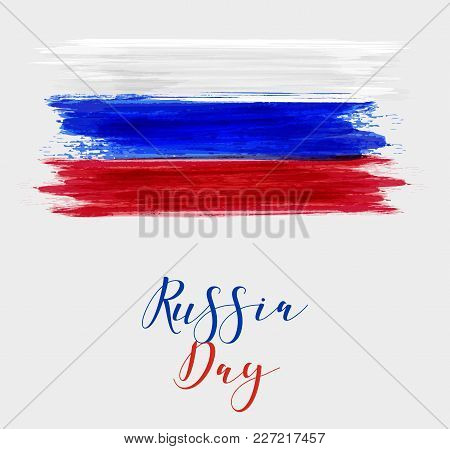 Russia Day Holiday Background