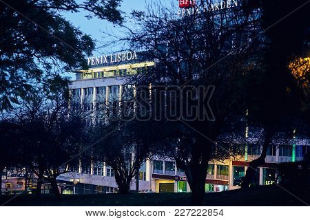 Lisbon, Portugal - January, 2018. The Building Of The Company Fenix In The Center Of Lisbon. In The