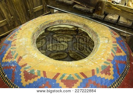 A Modern Gas Furnace For Baking Traditional Armenian Bread