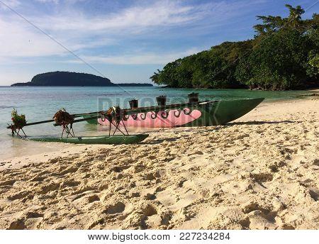 Scene Of Champagne Bay, Espiritu Santo, Vanuatu.