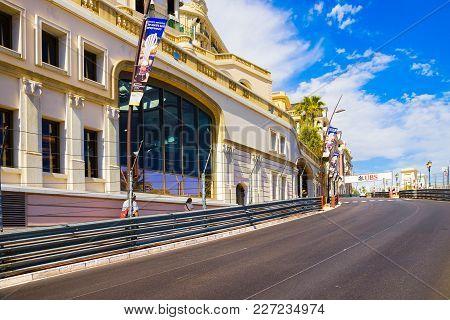 Monte Carlo / Monaco - June 02, 2013: Street Of Monaco Used For F1 Gran Prix Motor Race And Tourists