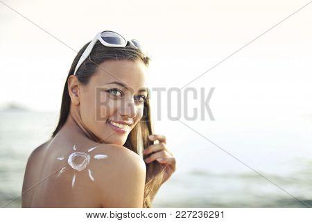 Protective sun cream