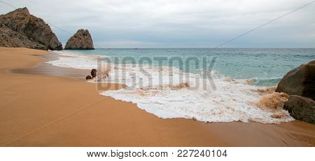 Divorce Beach On The Pacific Side Of Lands End In Cabo San Lucas In Baja California Mexico B C S