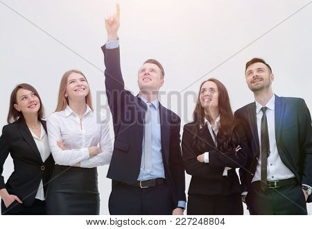 leader of the pointing goal for the business team
