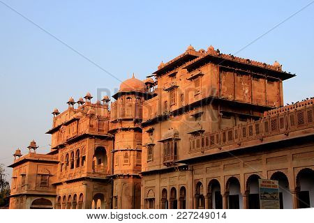 Oblique View Of Junagarh Fort At Bikaner In Rajasthan, India, Asia