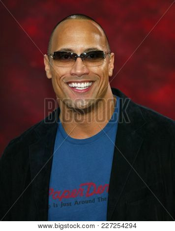 LOS ANGELES - JUN 05:  Dwayne Johnson arrives to the Mtv Movie Awards  on June 5, 2004 in Culver City, CA.