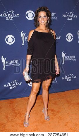 LOS ANGELES - MAY 24:  Sara Evans arrives to the Academy of Country Music Awards  on May 24, 2004 in Las Vegas, NV