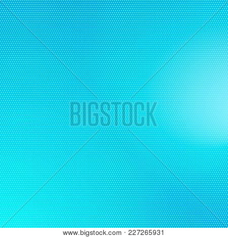 Abstract Blue Halftone Background. Vector Modern Background For Posters, Brochures, Sites, Web, Card