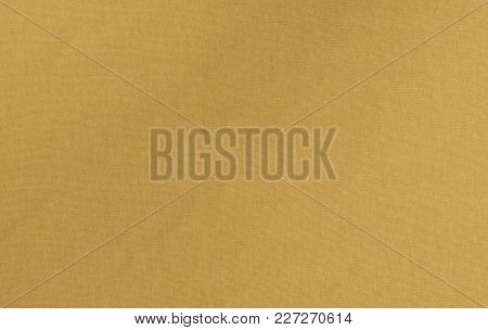 Yellow Cloth Textile Material Texture Background Pattern