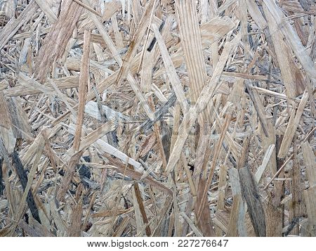 The OSB Panel Chipboard Background close up poster