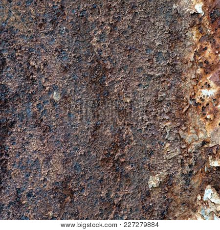 Texture Rusty Metal.  Rusty Metal Surface Close Up Photo