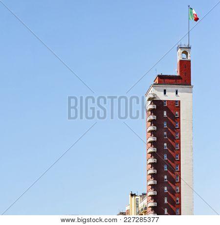Littoria Tower In Turin, Italy