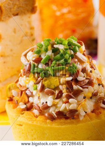 Aperitif food wedding