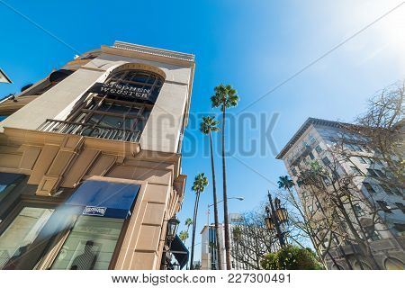 Beverly Hills, Ca, Usa - November 02, 2016: Stephen Webster Store In Rodeo Drive