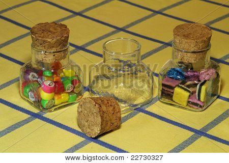 Empty Lolly Jar