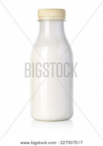 Milk Bottle Isolated