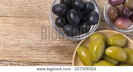 The Green And Black Olives