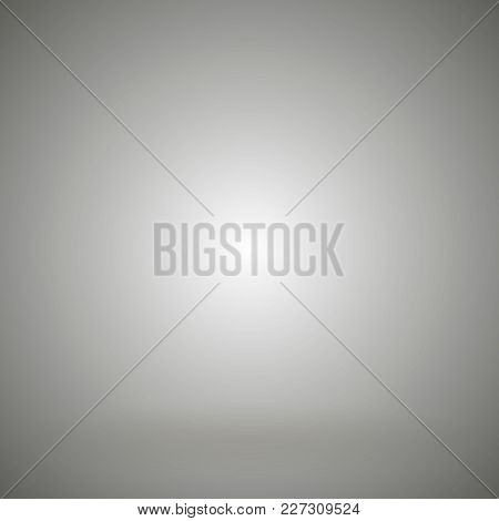 Grey Gradient Abstract Background. Background Gray Gradient Vector Illustration
