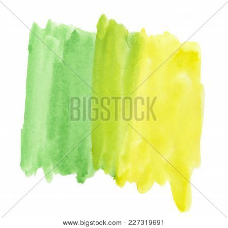 Abstract Texture Brush Ink Background Multicolored Aquarell Watercolor Splash Hand Paint On White Ba