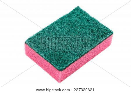 Washcloth On White Background, Isolated