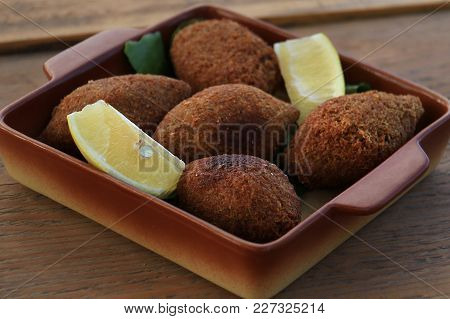 The Vegan Version Of A Traditional Lebanese Dish, Kibbeh.