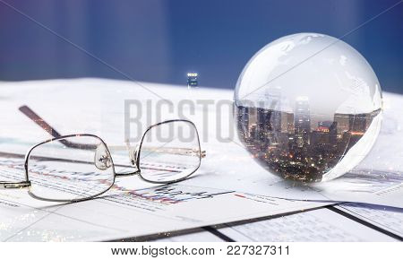 Sphere Background Isolated Business Travel Environment Sea
