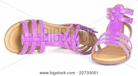 Pink Children's Maiden Sandal