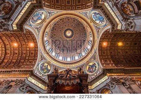 Basilica Of Saint Peter, Vatican City, Vatican