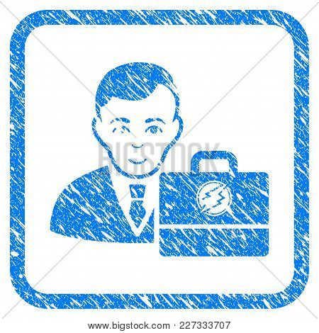 Electroneum Accounter Rubber Seal Stamp Watermark. Icon Vector Symbol With Grunge Design And Dirty T