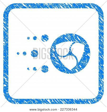 Fast Nem Transfer Rubber Seal Stamp Watermark. Icon Vector Symbol With Grunge Design And Dirty Textu