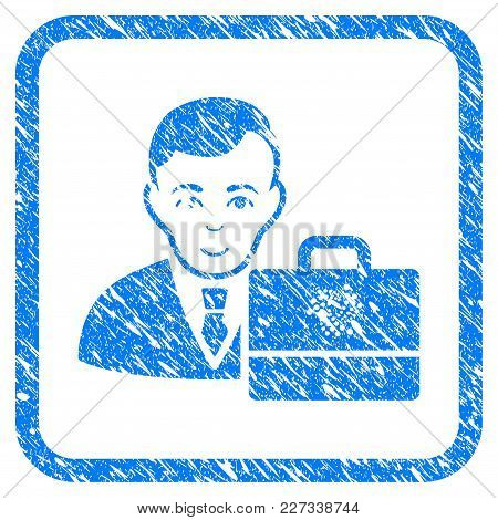 Iota Accounter Rubber Seal Stamp Watermark. Icon Vector Symbol With Grunge Design And Unclean Textur