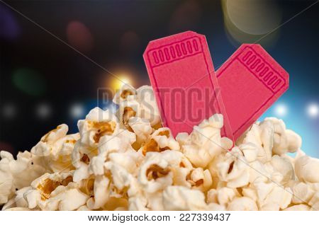 Box Food Pop Corn Popcorn Take Away Take Out