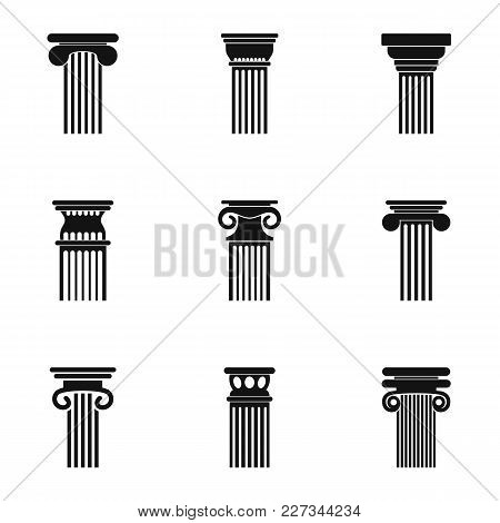 Tower Icons Set. Simple Set Of 9 Tower Vector Icons For Web Isolated On White Background