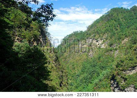 Spectacular Views Hiking Through Mount Cangshan In Dali, Yunnan, China