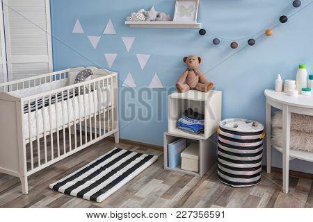 Interior of beautiful children room