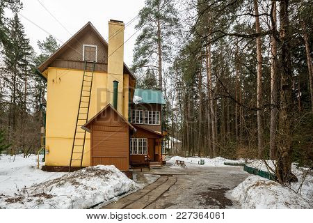 House-museum Of The Famous Soviet Children's Writer Korney Chukovsky In The Writers Village Of Pered