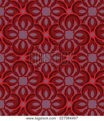 Vector Graphic Illustration, Seamless Background, Ornament, Abstraction