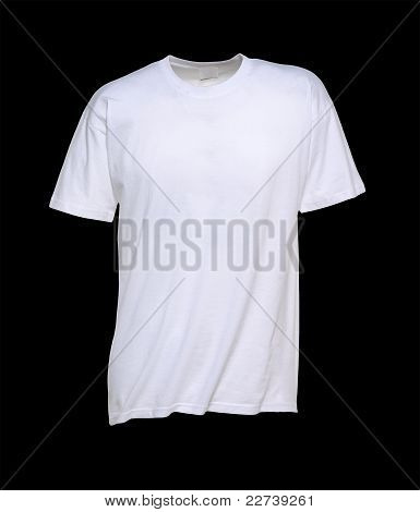 Isolated White T-Shirt