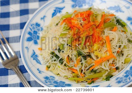 Mixed Vegetarian Vermicelli