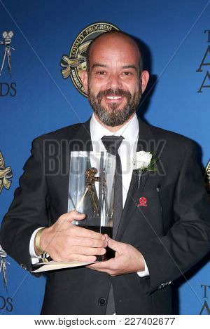 LOS ANGELES - FEB 17:  Adriano Goldman at the 32nd American Society of Cinematographers Awards at Dolby Ballroom on February 17, 2018 in Los Angeles, CA