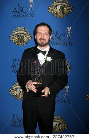 LOS ANGELES - FEB 17:  Mart Taniel at the 32nd American Society of Cinematographers Awards at Dolby Ballroom on February 17, 2018 in Los Angeles, CA