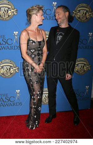 LOS ANGELES - FEB 17:  Teri Polo, Emmanuel Lubezki at the 32nd American Society of Cinematographers Awards at Dolby Ballroom on February 17, 2018 in Los Angeles, CA
