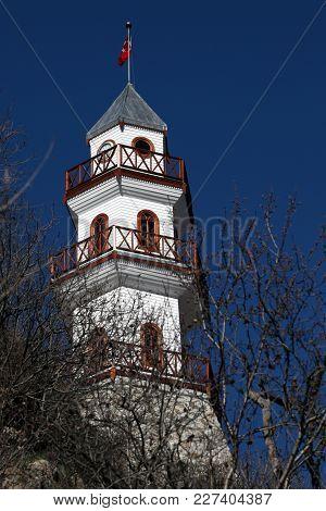 Zafer Kulesi In Goynuk, Bolu. Zafer Kulesi Literally Translates To Victory Tower; It Was Built In 19