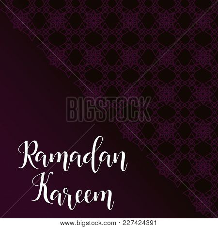 Ramadan Kareem Greeting Vector File I With A Modern Style Specially For Ramadan Wishing And Design