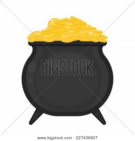 Cauldron With Gold Coins